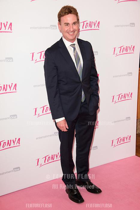 "Steven Rogers at the ""I, Tonya"" premiere at the Curzon Mayfair, London, UK. <br /> 15 February  2018<br /> Picture: Steve Vas/Featureflash/SilverHub 0208 004 5359 sales@silverhubmedia.com"