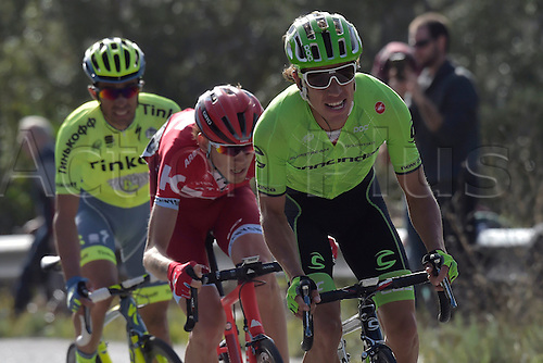 21.02.2016. Almodovor, Algarve, Portugal.  URAN URAN Rigoberto (COL)  of CANNONDALE PRO CYCLING TEAM in action during stage 5 of the 42nd Tour of Algarve cycling race with start in Almodovar and finish in Malhao (Loule) on February 21, 2016 in Malhao, Portugal.