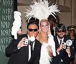 Michael Kors, Sandra Lee and Lance LePere attend the 19th Annual Hulaween Gala: Fellini Hulaweeni at the Waldorf-Astoria on October 31, 2014 in New York City.