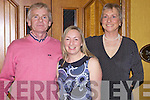 Members of the Old Mill Foxhounds enjoying the annual hunt dance last Friday night was l-r: Bernard McCoy(Old Mill), Jackie O'Sullivan(Feonanagh) and Frances Geoghegan(Kilmeedy), pictured here in The Devon Inn, Templeglantine.