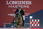 Olivier Philippaerts of Belgium riding H&M Challenge vd Begijnakker Z competes during the Hong Kong Tatler Trophy, part of the Longines Masters of Hong Kong on 12 February 2017 at the Asia World Expo in Hong Kong, China. Photo by Juan Manuel Serrano / Power Sport Images