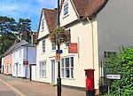 Historic buildings Crowe Street, Stowmarket, Suffolk, England, UK