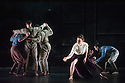 London, UK. 14.01.2014. BalletBoyz the Talent in their dress rehearsal of YOUNG MEN, which has its premiere, and opens the season, at Sadler's Wells. Dancers are: Andrea Carruciu, Dalma Doman, Flavien Esmieu, Marc Galvez, Adam Kirkham, Edward Pearce, Leon Poulton, Matthew Rees, Matthew Sandiford, Bradley Waller, Jennifer White.  Photograph © Jane Hobson.