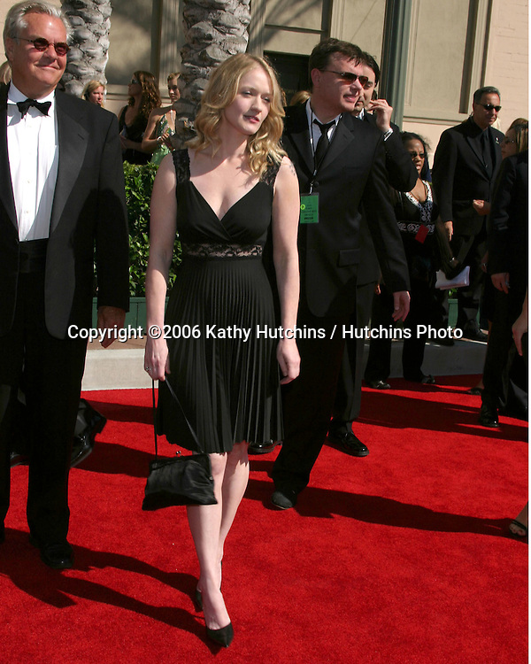 Paula Malcomson .Creative Emmys 2006.Shrine Auditorium.Los Angeles, CA.August 19, 2006.©2006 Kathy Hutchins / Hutchins Photo....
