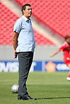 15 March 2008: Panama head coach Alexandre Guimaraes (BRA). The Panama U-23 Men's National Team defeated the Cuba U-23 Men's National Team 4-1 at Raymond James Stadium in Tampa, FL in a Group A game during the 2008 CONCACAF's Men's Olympic Qualifying Tournament.