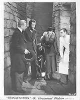 Frankenstein (1931) <br /> Colin Clive, Dwight Frye, Mae Clarke, John Boles &amp; Edward Van Sloan<br /> *Filmstill - Editorial Use Only*<br /> CAP/KFS<br /> Image supplied by Capital Pictures