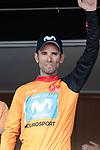 race leader and points leader alejandro valverde spain movistar