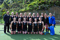 The Wairarapa team after the National Senior Women's Hockey Tournament 5th place playoff match between Wellington and Wairarapa at National Hockey Stadium in Wellington, New Zealand on Saturday, 23 October 2017. Photo: Dave Lintott / lintottphoto.co.nz