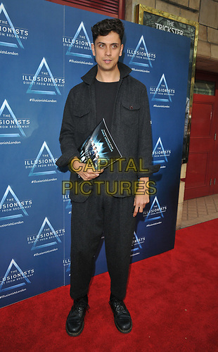 """Ben Hart at the """"The Illusionists"""" show press night, Shaftesbury Theatre, Shaftesbury Avenue, London, England, UK, on Wednesday 10th July 2019.<br /> CAP/CAN<br /> ©CAN/Capital Pictures"""