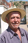 Lin-Pogradec-Albania - August 02, 2004---A man at/from the village of Lin; region/village of project implementation by GTZ-Wiram-Albania (German Technical Cooperation, Deutsche Gesellschaft fuer Technische Zusammenarbeit (GTZ) GmbH); portrait-people---Photo: Horst Wagner/eup-images