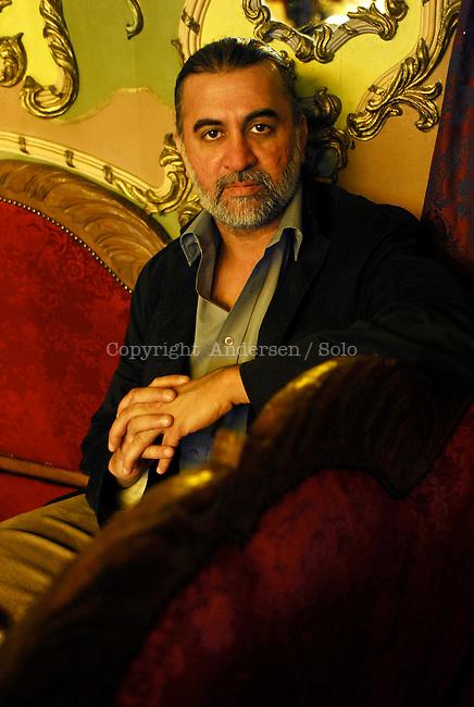 Tarun J. Tejpal, Indian writer, in Saint Malo, 2006.