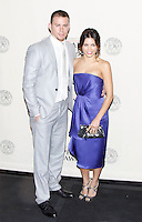 Channing Tatum and Jenna Dewan Tatum at The George Foster Peabody Awards at the Waldorf Astoria in New York City. May 21, 2012. © Laura Trevino/MediaPunch Inc.