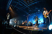 HOLLYWOOD FL - NOVEMBER 06: Paul Wilson, Jonny Quinn, Gary Lightbody, Nathan Connolly and Johnny McDaid of Snow Patrol perform at the Hard Rock Events Center held at the Seminole Hard Rock Hotel & Casino on November 6, 2018 in Hollywood, Florida. : Credit Larry Marano © 2018