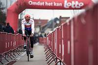 Czech Republic National Champion Josef Cerny (CZE/CCC), pre race <br /> <br /> 71st Kuurne-Brussel-Kuurne (2019)<br /> Kuurne > Kuurne 201km (BEL)<br /> <br /> ©kramon