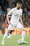 Real Madrid's Karim Benzema during La Liga match. April 2,2016. (ALTERPHOTOS/Acero)