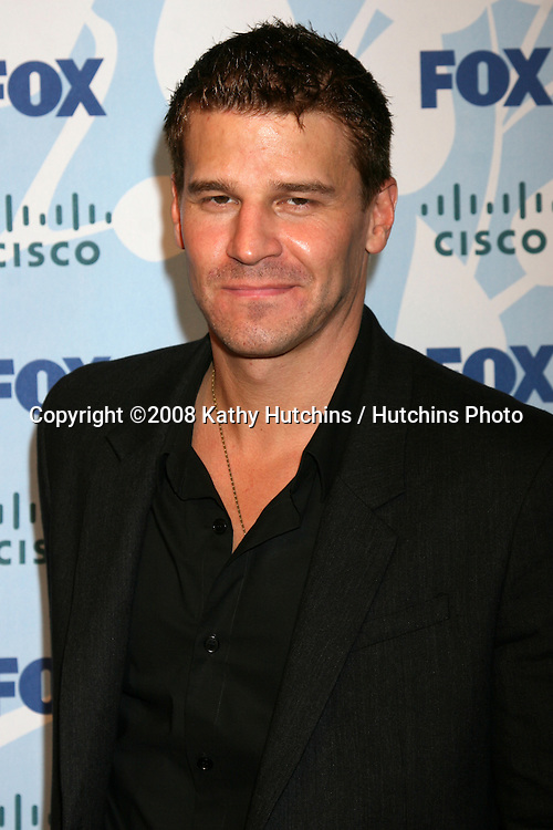 David Boreanaz  arriving at the Fox ECO Casino Party at The London West Hollywood Hotel, in West Hollywood, CA on.September 8, 2008.©2008 Kathy Hutchins / Hutchins Photo....