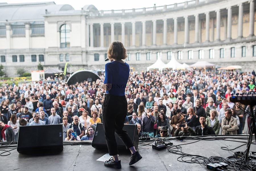 Bruxelles, Belgique: Sonnfjord au Fêtes de la musique au Cinquantenaire, le 24 juin 2018.