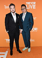 02 December 2018 - Beverly Hills, California - Zeke Smith, Nico Santos. 2018 TrevorLIVE Los Angeles held at The Beverly Hilton Hotel. <br /> CAP/ADM/BT<br /> &copy;BT/ADM/Capital Pictures