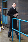 © Joel Goodman - 07973 332324 . 28/03/2015 . Manchester , UK . Chancellor GEORGE OSBORNE arrives at the Conservative Party Spring Forum at the Old Granada Studios , Quay Street , Manchester . Photo credit : Joel Goodman