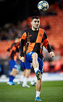 27th November 2019; Mestalla, Valencia, Spain; UEFA Champions League Footballl,Valencia versus Chelsea; Mateo Kovacic of Chelsea warms up prior to the game - Editorial Use