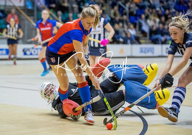 ROTTERDAM  - NK Reserve Hoofdklasse  Zaalhockey . SCHC D2 - HDM D2  (2-2, HDM wint shoot-outs) .  COPYRIGHT KOEN SUYK