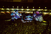 The Grateful Dead Live in Concert at Giants Stadium June 16, 1991. Full Set, Lights and Stage Design Capture Image.