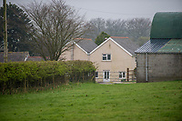 Pictured: General view of the house of Janet Ajao, mother of Khalid Masood in Trelech, Carmarthenshire, Wales, UK. 28 March 2017<br /> Re: Janet Ajao, the mother of Khalid Masood, who was responsible for the terrorist attack in London's house in Trelech, Carmarthenshire, UK