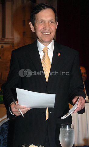 Dennis J. Kucinich attends the 10th Annual Rainbow PUSH Wall Street Project held at the Sheraton in New York, January 8, 2007. Credit: Dennis Van Tine / MediaPunch