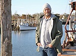 David Goldsmith, Owner of Harbour Trading, at Belford Fishing Coop in Belford, New Jersey.