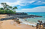 Secret Cove Beach is located on the southwest coast of Maui and is a favorite spot for wedding ceremonies.