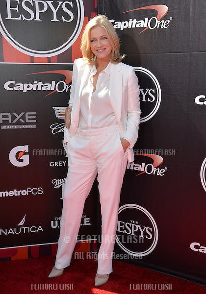 Diane Sawyer at the 2015 ESPY Awards at the Microsoft Theatre LA Live.<br /> July 15, 2015  Los Angeles, CA<br /> Picture: Paul Smith / Featureflash