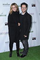 23 February 2017 - Santa Monica, California - Katie McGrath, J.J. Abrams.  2017 Oscar Wilde Awards held at Bad Robot. Photo Credit: Birdie Thompson/AdMedia