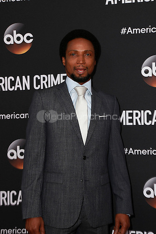 LOS ANGELES, CA - FEBRUARY 28: Elvis Nolasco at the American Crime Premiere at the Ace Hotel in Los Angeles, California on February 28, 2015. Credit: David Edwards/DailyCeleb/MediaPunch