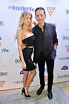 MIAMI BEACH, FL - FEBRUARY 15: Charlotte McKinney and Charles Khabouth attend Ocean Drive Magazine Celebrates Its February Issue With Cover Star Charlotte McKinney at Byblos Miami in Royal Palm Hotel on February 15, 2017 in Miami Beach, Florida. ( Photo by Johnny Louis / jlnphotography.com )