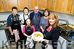 Ava McCarthy, Calum Heuston, Amy Lynch, John Leahy, Colette Price and Noreen O'Connor pictured at the Ashe Street Soup Kitchen (Teach Solas) on Saturday.