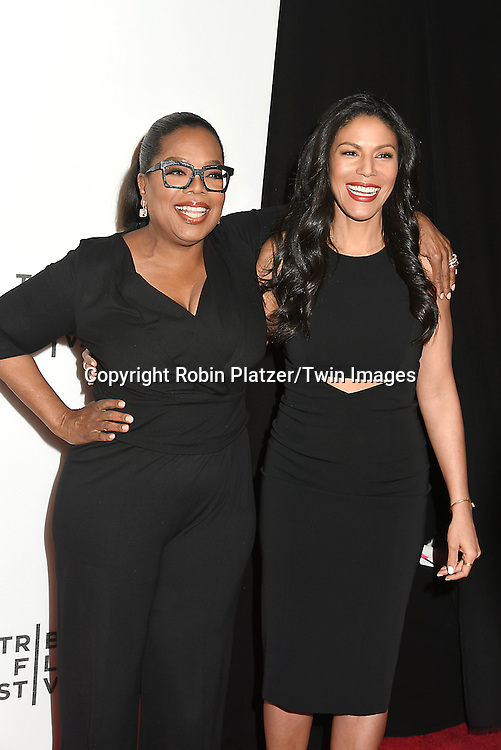 Executive Producer and actress Oprah Winfrey and Merle Dandridge attend the &quot;Greenleaf&quot; world premiere at The Tribeca Film Festival on April 20, 2016 at the John Zuccotti Theater @ BMCC Tribeca Performing Arts Center in New York, New York, USA. The new original drama Series is from the OWN Network.<br /> <br /> photo by Robin Platzer/Twin Images<br />  <br /> phone number 212-935-0770