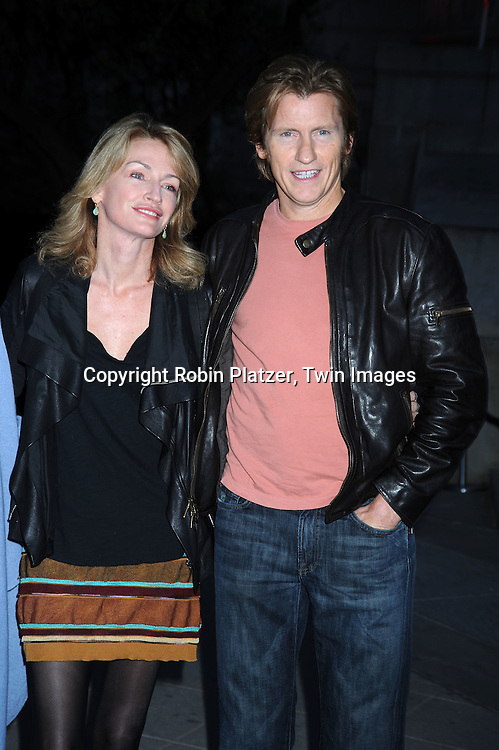 Ann and Denis Leary arriving at The Vanity Fair Tribeca Film Festival Party on April 20, 2010 at The State Supreme Courthouse in New York City.