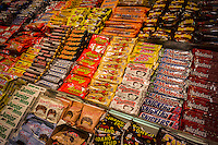 A selection of candy is seen in a candy store in New York on Thursday, October 16, 2014. (© Richard B. Levine)