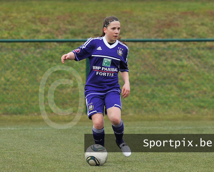 RSC Anderlecht Dames : Taika De Koker .foto DAVID CATRY / Vrouwenteam.be