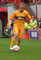 Nicky Law in the Hamilton Academical v Motherwell friendly match played at New Douglas Park, Hamilton on 24.7.12..
