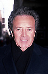 Vic Damone walking down sixth avenue on October 18, 1983 in New York City.