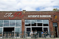 The Pit, a new barbeque restaurant in Raleigh's warehouse district.