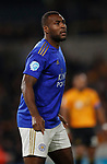 Wes Morgan of Leicester City during the Premier League match at Molineux, Wolverhampton. Picture date: 14th February 2020. Picture credit should read: Darren Staples/Sportimage