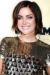 "HOLLYWOOD, CA. - August 24: Jessica Stroup arrives at the Los Angeles premiere of ""Extract"" at the ArcLight Hollywood on August 24, 2009 in Hollywood, California."