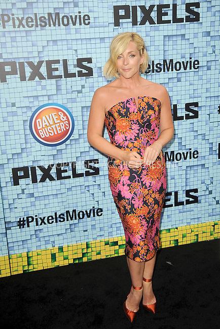 WWW.ACEPIXS.COM<br /> July 18, 2015 New York City<br /> <br /> Jane Krakowski attending the 'Pixels' Premiere at Regal E-Walk on July 18, 2015 in New York City.<br /> <br /> Please byline: Kristin Callahan/ACE <br /> <br /> <br /> Tel: (646) 769 0430<br /> e-mail: info@acepixs.com<br /> web: http://www.acepixs.com