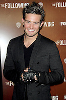 NEW YORK, NY - JANUARY 18: Nico Tortorella at the world premiere of The Following at the New York Public Library in New York City. January 18, 2013. Credit:© RW/MediaPunch Inc.