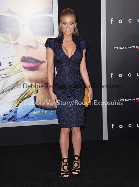 Carmen Electra attends Warner Bros. Pictures L.A. Premiere of FOCUS held at The TCL Chinese Theater  in Hollywood, California on February 24,2015                                                                               © 2015 Hollywood Press Agency