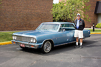 1964 Cruiser Class (#143C) – 1964 Chevrolet Chevelle Malibu Super Sport registered to Harold Griswold is pictured during 4th State Representative Chevy Show on Saturday, July 2, 2016, in Fort Wayne, Indiana. (Photo by James Brosher)