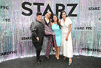 CENTURY CITY, CA - June 2: Ser Anzoategui, Melissa Barrera, Chelsea Rendon, Mishel Prada, at Starz FYC 2019 — Where Creativity, Culture and Conversations Collide at The Atrium At Westfield Century City in Century City, California on June 2, 2019. <br /> CAP/MPIFS<br /> ©MPIFS/Capital Pictures
