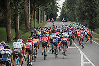 peloton using the whole road<br /> <br /> Brussels Cycling Classic 2016